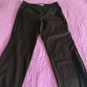 Trina Turk brown cropped pants